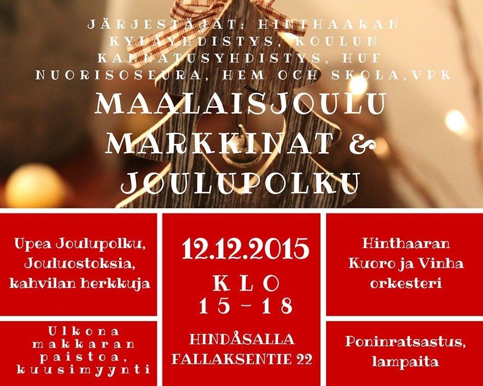 Copy of Joulumarkkinat pun SUOMI