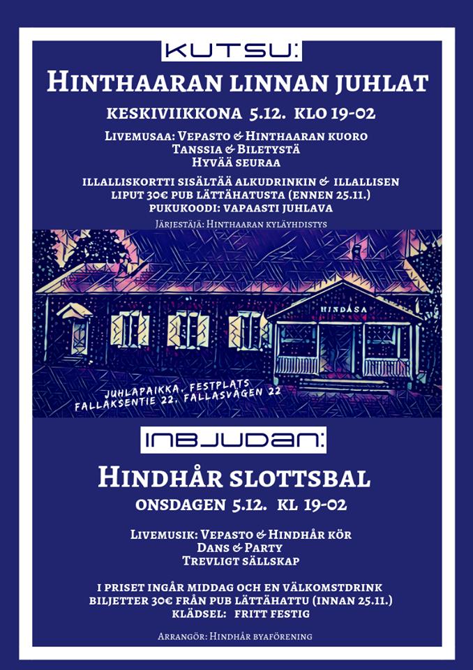 Hinthaaran linnanjuhlat 2018 @ Hindåsa | Porvoo | Suomi